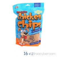 All Natural Chicken Chips- Dog Treats MADE in the U.S.A - B00BXLQCPM