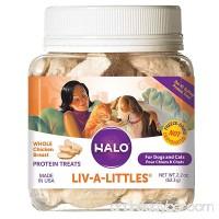Halo Liv-A-Littles Grain Free Natural Dog Treats & Cat Treats - B00027CL5S