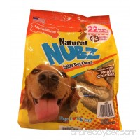 Natural Nubz Nylabone Edible Dog Chews  22 Count  2.6 lb Bag - B015VYQXEQ
