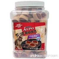 Purina ALPO T-Bonz Filet Mignon Flavor Steak-Shaped Dog Treats  40-Ounce Canister  Pack of 1 - B01C47NRF6