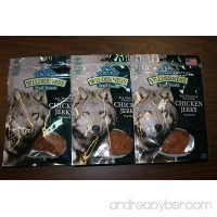 3 Bags - Blue Buffalo Wilderness Chicken Grain Free Dog Jerky Treats - Made in USA - B00G7W7DIM