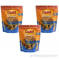 (3 Pack) Cadet Chicken & Sweet Potato Dog Treat Wraps; 28 oz Each - B01M12TXPP