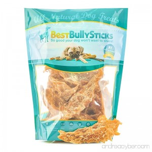 Best Bully Sticks Premium Slow-Cooked Whole Muscle Chicken Jerky Dog Treats 8oz. Bag - B00JWWBINU