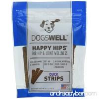 Happy Hips Duck Jerky Strip Dog Treat  5-Ounce - B00I7ZZEVA