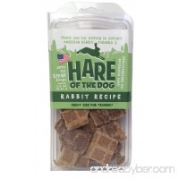 Hare of the Dog 100% Rabbit Small Dog Jerky Treats - 2.5 Ounces - B00LDCTSNY