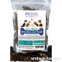 Healthy Jerky Dog Treats Made in USA (16oz Bag) - Source of Glucosamine Hip & Joint Supplement for Dogs - Best Grain Free Treat for Pain Relief - Beef Liver Formula All Breeds - No Corn Soy or Wheat - B0761YHF1Q