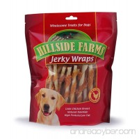 Hillside Farms Chicken and Rawhide Jerky Wraps Premium Dog Treats  32-Ounce - B00KAMY1F8