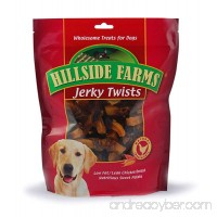 Hillside Farms Chicken and Sweet Potato Premium Dog Treats Jerky Twists 32-Ounce - B00KAMHD4O
