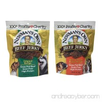Newman's Own Beef Jerky Treats for Dogs  Bundle of 2 Flavors  Original Recipe and Beef & Sweet Potato Recipe  5oz each - B07CBCWSZZ