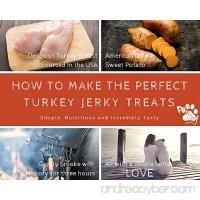 Paw to Tail Dog Jerky Treats Made USA All Natural Low Fat Grain Free 8oz - B01M1MRO5V