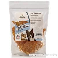 Pet Eden Natural Grain Free Chicken Jerky Dog and Cat Treats  8 oz. Strips - B00KX95MAQ