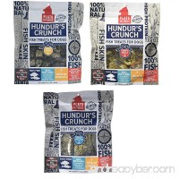 PLATO Dog Treats - Hundur's Crunch Jerky Variety - 3.5 oz (3 pack) - B075H43H1J