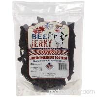 The American Made Treat Company 6747 Grain-Free Beef Jerky Dehydrated Dog Treat 12 oz - B073QV938N