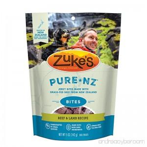 Zuke's PureNZ Jerky Bites New Zealand Recipe Dog Treats - 5 oz. Pouch - B01KPSJBHO