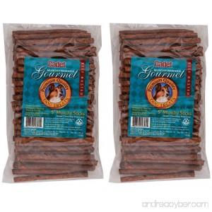 (2 Pack) Rawhide Munchy Sticks Beef 5-Inch (100 Count Per Pack) - B00PEYMD3E