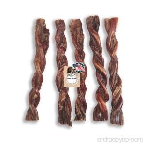 Bully Twists 9 Bully Sticks Odor FREE Made in USA - B00ZEA8G6Q