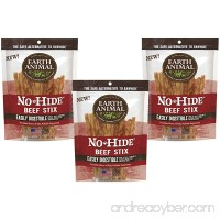 Earth Animal No-Hide Beef Stix  30ct (3-Packages of 10) - B01LYZGM5X