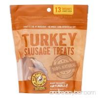 "Happy Howie's Turkey Sausage Dog Treat 4"" Baker's Dozen (13 Count) 10 Ounces - B00U74J3N4"