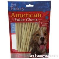 PET FACTORY 28054 American Beef-Hide Premium Twist Sticks  5-Inch  25-Pack - B00MENRHHK