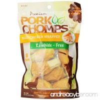 Scott Pet Premium Pork Chomps Drumstickz Chicken  Small - B00DQ1SD7W