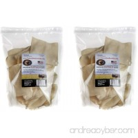 (2 Packages) Tasman's Natural Pet All-Natural Buffalo Rawhide Chips - 1 Pound each - B06ZZPNSHS