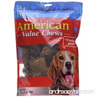 Pet Factory American Beef Hide Beef Flavored Chips Chews for Dogs Small/18 oz - B01A0ZFBXU