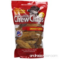 The Rawhide Express Beefhide Chew Chips Hickory Flavored 1 Pound Bag (Makes a Great Reward or Treat) - B0018CFOZU