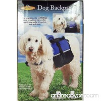 Dog Backpack Medium (Blue) - B00NE8QFDQ