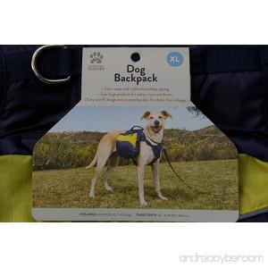Dog Backpack (X-Large) - B078ZLM4JS