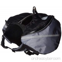 Doggles Dog Backpack  Extreme XS  Gray/Black - B002XZL61M