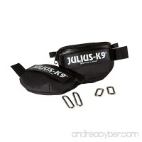 Julius-K9 1621IDC-K IDC Universal side bags/Pair  Mini  Black - B01960QZ9E