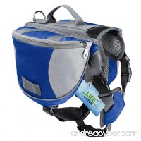 Lifeunion Saddle Bag Backpack for Dog  Tripper Hound Bag Travel Hiking Camping - B0753FHNFH