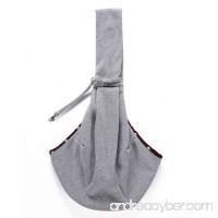 qiaoW Diagonal Single Shoulder Portable Pet Bag Breathable Double-sided Bag - B07FNQ9F5X