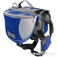 UHeng Pet Small Medium Large Dog Backpack Hound Travel Hiking Camping Saddle Bag - B078SVMQSS