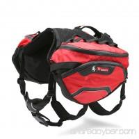 WINHYEPET Dog Pack Saddle Backpack Rucksack Saddlebags Dogs Vest Harness Adjustable for Medium Large Bags for Hound Travel Hiking Travel - B07FSRVZ97