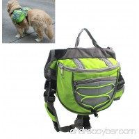 Xiaoyu Dog Backpack  Adjustable Saddle Bag Harness Carrier  for Traveling Hiking Camping - B075RXM88V