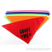 Adopt Me Dog Bandana- Pack of 4 Assorted Colors by Midlee - B0785PNS7F