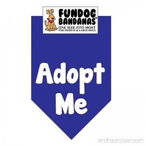 Adopt Me Dog Bandana (white ink) - B00JFFENCC