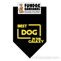 Best Dog in the Galaxy Dog Bandana - B0779FXZBT