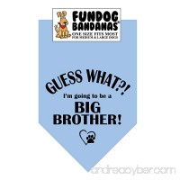 Guess What?! I'm Going to Be a Big Brother! Dog Bandana - B00OJCC1AM