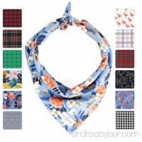 Lucy & Co Dog Bandanas - Designer Puppy Accessories for Boy and Girl Dogs - Limited Edition Prints Fit Small Medium Large Dogs - B072MHZJJT