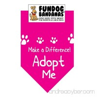 Make a Difference: ADOPT ME Dog Bandana - B00SVTFNQS