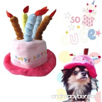 Pet Costume Dog Holiday Hats Accessory for Dogs Small Animals - B01C14LRTK