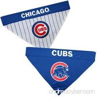 Pets First CUB-3217-L-XL MLB Dog Bandana - Chicago Cubs Reversible Pet Bandana  Large/X-Large  MLB Team Color - B078H7WMJ2