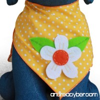Tail Trends Dog Bandanas for Every Dog Occasion Summer Spring Nature Handmade Appliques - 100% Cotton - B00H8C7H86