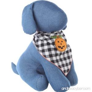 Tail Trends Halloween Dog Bandanas with Designer Appliques - 100% Cotton - B00OGQSAC4