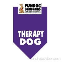 Therapy Dog Bandana - B00T6MVPNO
