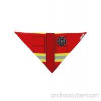 TooLoud Firefighter Red AOP Dog Bandana 26 All Over Print - B015AKBP94