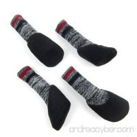 Alfie Pet by Petoga Couture - Brett Set of 4 Rubber Dipped Dog Paw Protection Socks - B07555Q61X