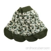 Doggie Design Non-Skid Anti-Slip Dog Sole Socks 100% Cotton Machine Washable - B06XDWH3NJ